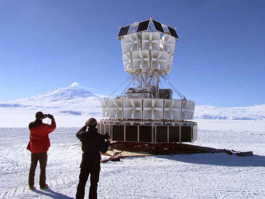 Antarctic Impulse Transient Antenna, detects ultra-high-energy cosmic neutrinos. https://twitter.com/johncarlosbaez/status/1046627464154247169