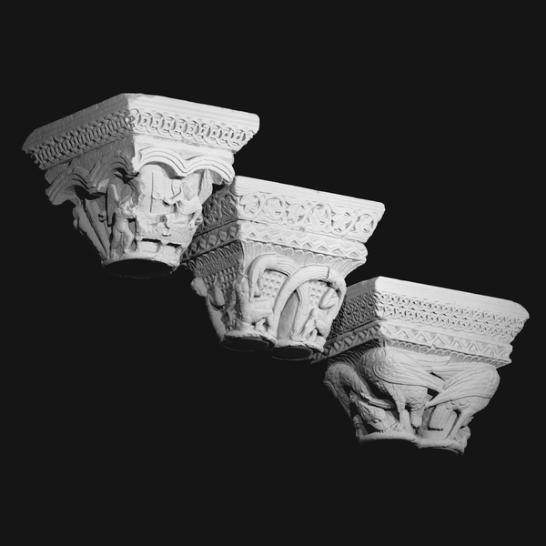 Musée des Augustins Download 3D Model - https://www.myminifactory.com/object/3d-print-capital-acanthus-leaves-in-an-array-of-vines-70858