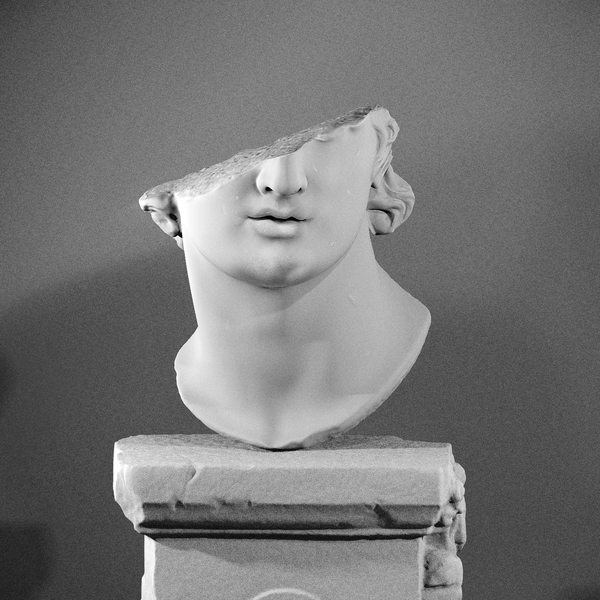 Fragmentary Colossal Head of a Youth (2nd Century B.C.)