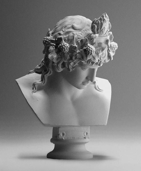Bust of Antinous as Dionysus (ca. 130-138)