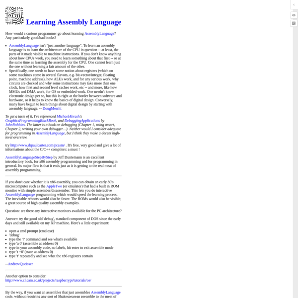 Are na / Assembly