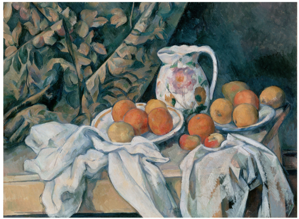 Paul Cezanne Still Life with a Curtain