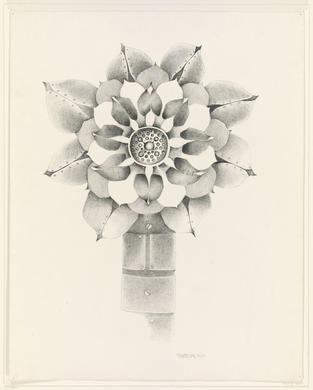 Lee Bontecou, Untitled, 1970. Graphite on paper. Yale University Art Gallery, New Haven, Connecticut, purchase with the Aid of Funds from the National Endowment for the Arts and the Susan Morse Hilles Matching Fund. © Lee Bontecou.