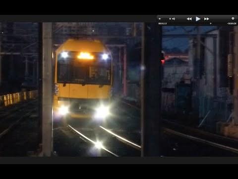 Australian Trains: North Strathfield, as day breaks