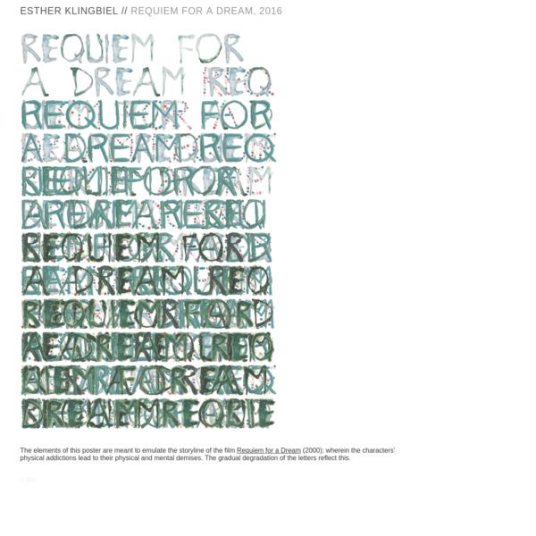 Requiem for a Dream—2016