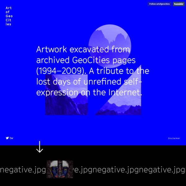 Art of GeoCities