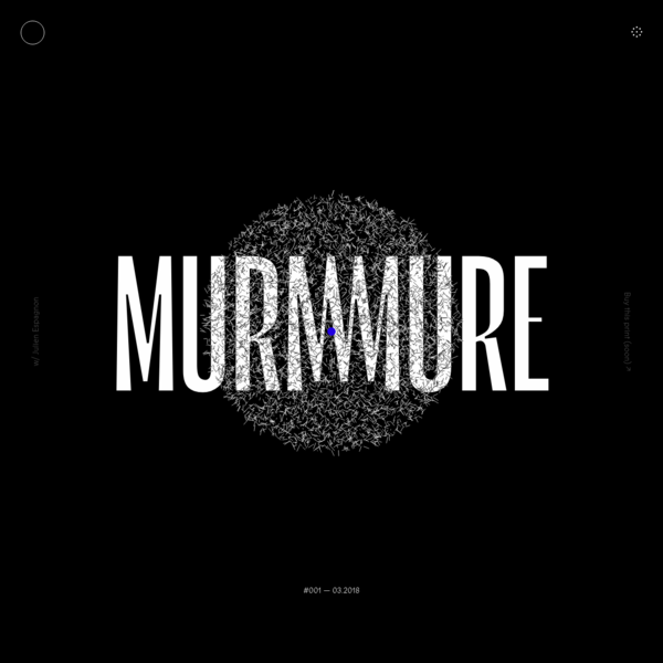 Murmure - French creative agency located in Caen and Paris