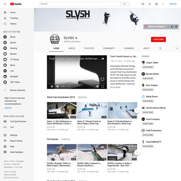 www.slvsh.com || Global Freeski Matchup League