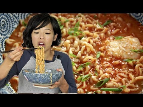 """Testing out Roy Choi""""s (of the infamous Kogi Food Truck) recipe for the PERFECT instant ramen. Here's how to fix it and how it tastes. New videos every Monday, Thursday, and Saturday 8 pm EST."""