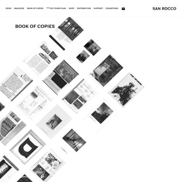 San Rocco | Book Of Copies