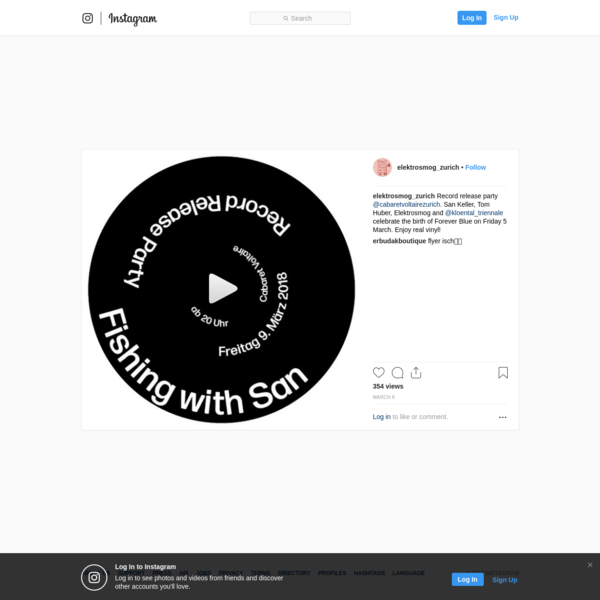 "36 Likes, 1 Comments - Elektrosmog (@elektrosmog_zurich) on Instagram: ""Record release party @cabaretvoltairezurich. San Keller, Tom Huber, Elektrosmog and..."""