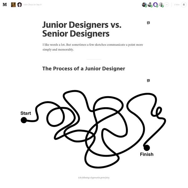 Junior Designers vs. Senior Designers