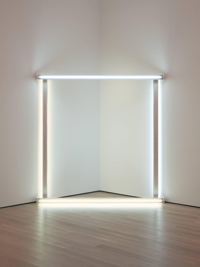 untitled (to dear, durable Sol from Stephen, Sonja, and Dan) one, 1969 - Dan Flavin