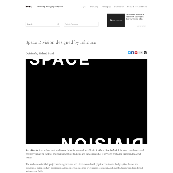 New Logo for Space Division by Inhouse - BP&O