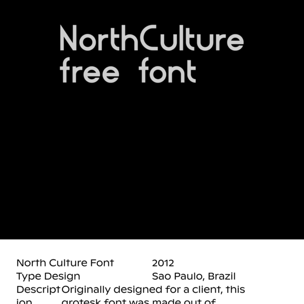 North Culture Font - Ofcina - Identity Design Services