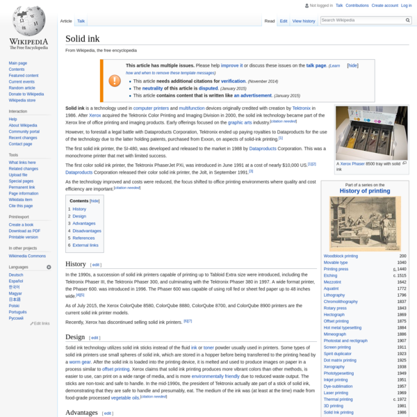 Solid ink - Wikipedia