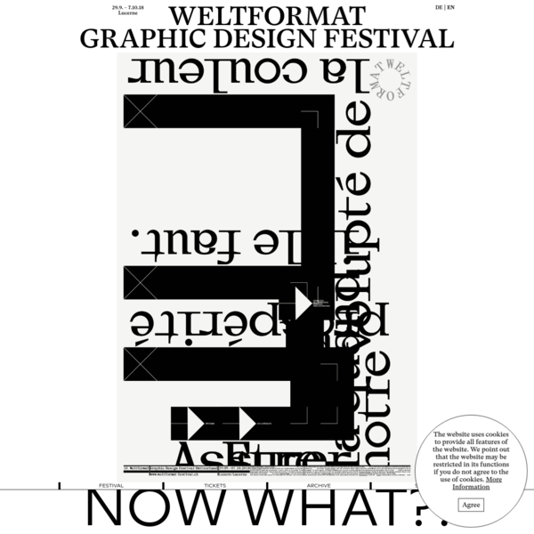 Weltformat Graphic Design Festival