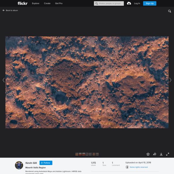Mawrth Vallis Region