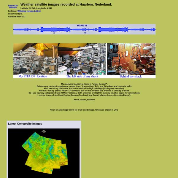 Weather Satellite Images for Haarlem, Nederland