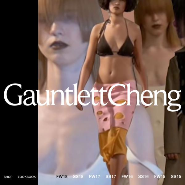 Is Esther Gauntlett and Jenny Cheng. For press, contact press@gauntlettcheng.com. For sales inquiries, contact sales@gauntlettcheng.com. For all general inquiries, contact info@gauntlettcheng.com. Visit our facebook and instagram.