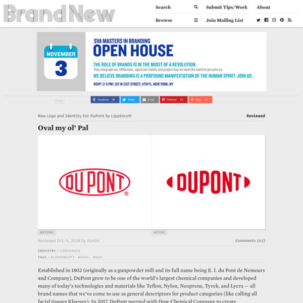 Reviewed: New Logo and Identity for DuPont by Lippincott
