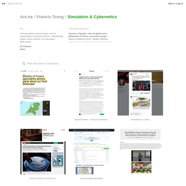 Are.na / Simulation & Cybernetics