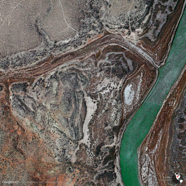 Loving, United States - Earth View from Google
