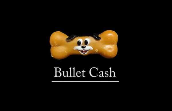 Bullet cash logo/ video company miam,fl