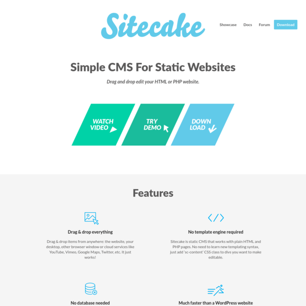If you find WordPress too complex, you should try Sitecake. It's really basic, drag and drop CMS for static websites.