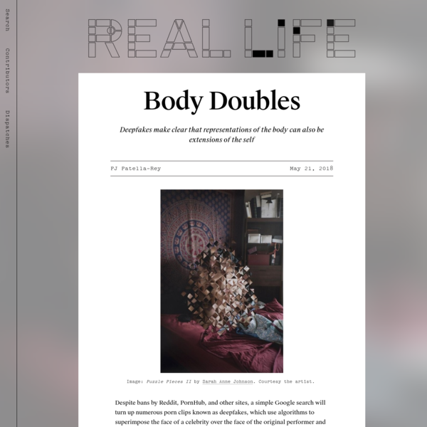 Body Doubles - Real Life