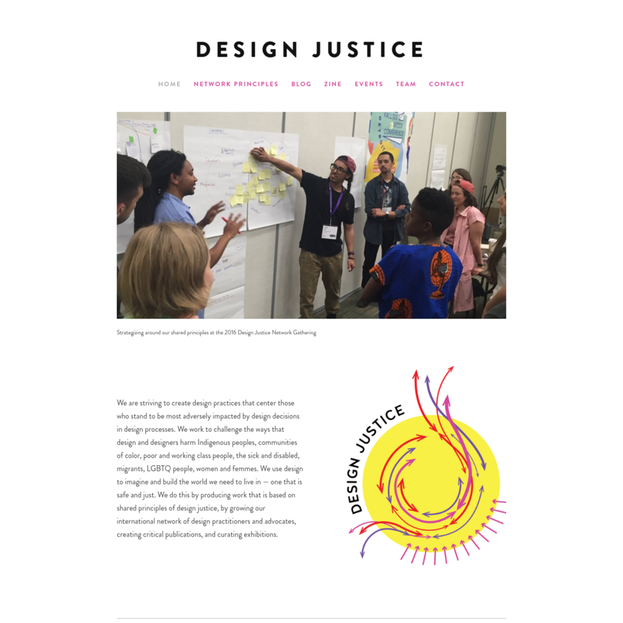 We use design to imagine and build the world we need to live in, one that is safe and just.