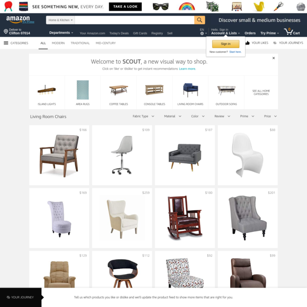 Scout - Living Room Chairs | Amazon.com