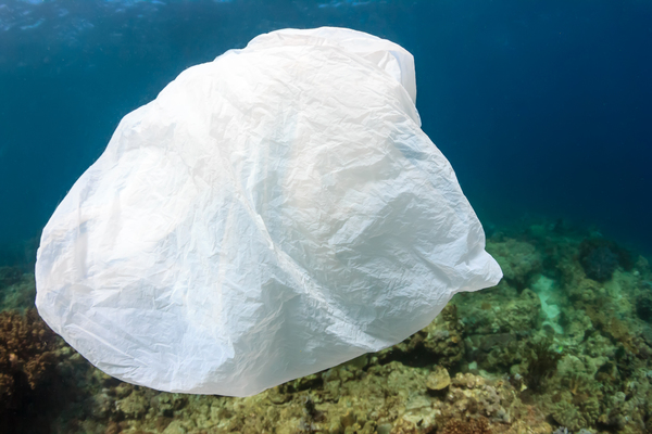 Floating Plastic Bag
