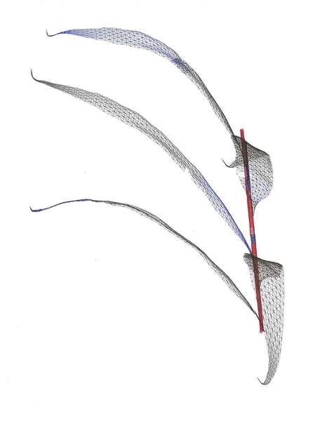 Ballpoint on Hahnemühle paper unique 21 × 30 cm.  https://kunstvereine.de/de/jahresgabe/bamboo-1