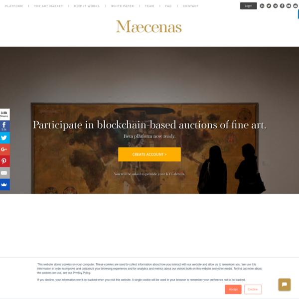 Maecenas | The Art Investment Platform