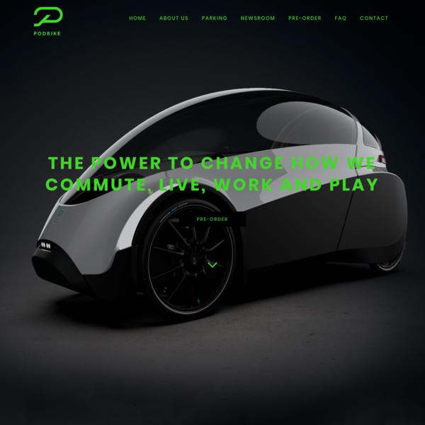 PODBIKE | The new standard of Velomobiles. Built for everyone