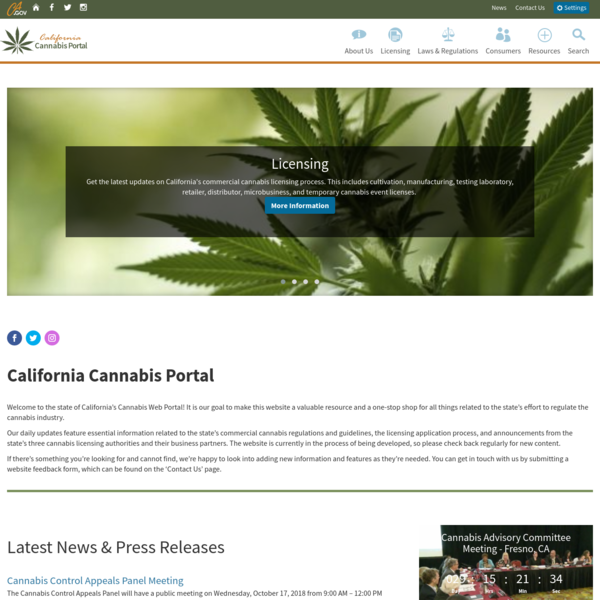California Cannabis Portal