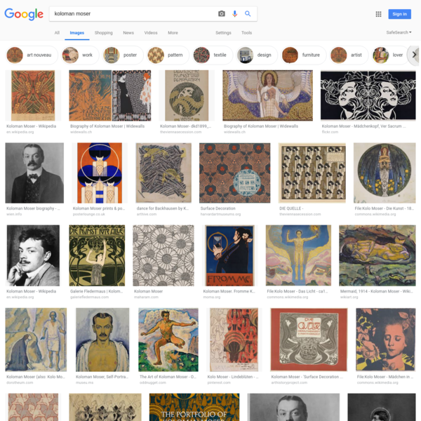 koloman moser - Google Search