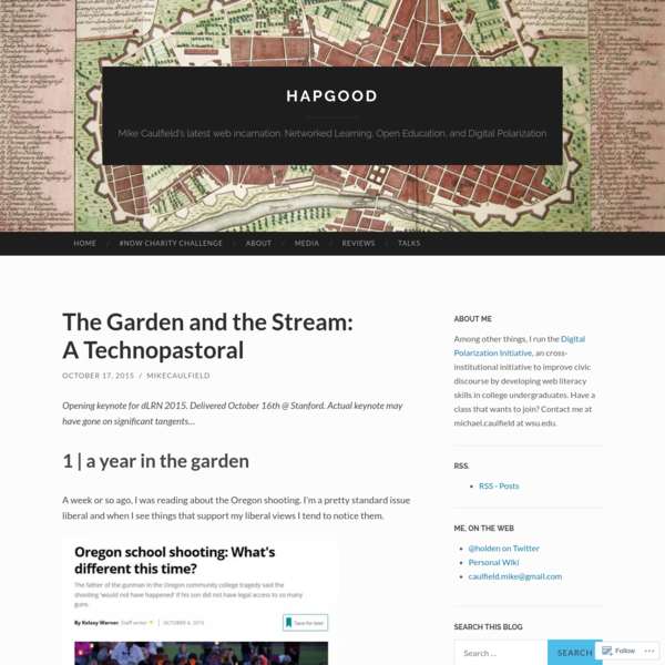 The Garden and the Stream: A Technopastoral