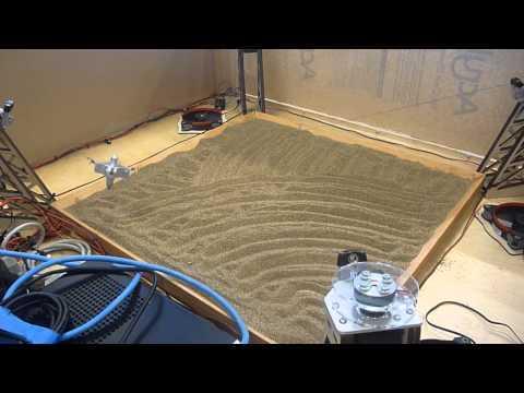 Four Cable Robot Test
