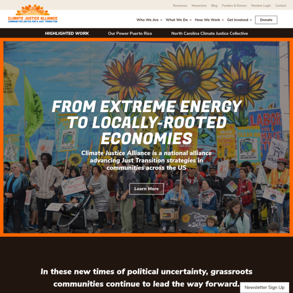 Home Page - Climate Justice Alliance