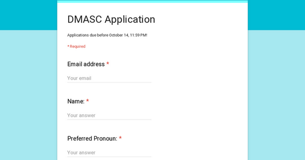 DMASC Application