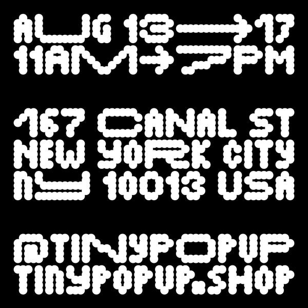 TINY Beta Typeface Social Post