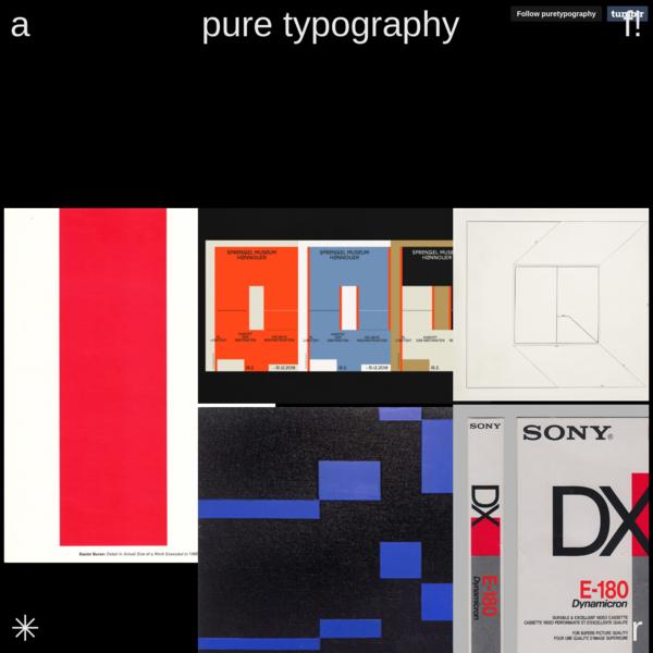 instagram/puretypography