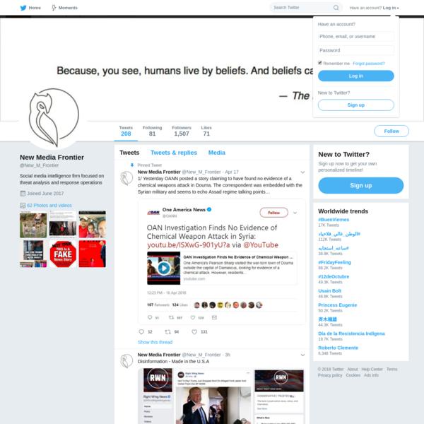 New Media Frontier (@New_M_Frontier) | Twitter