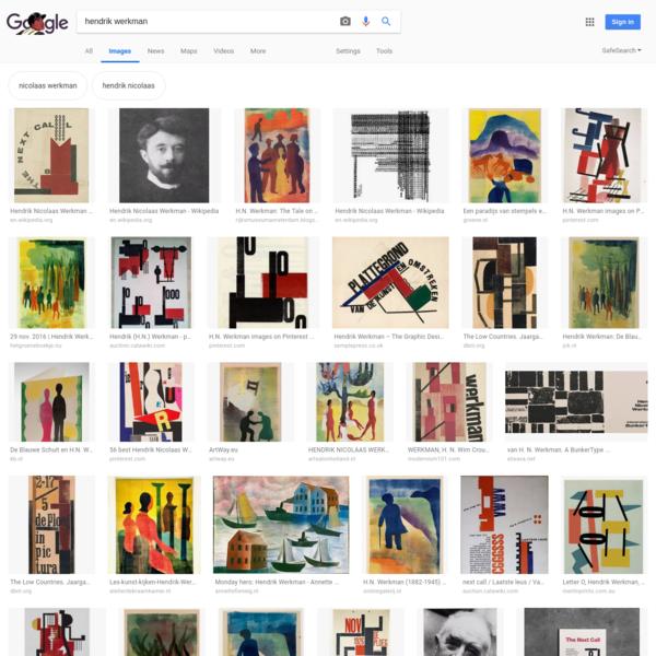 hendrik werkman - Google Search