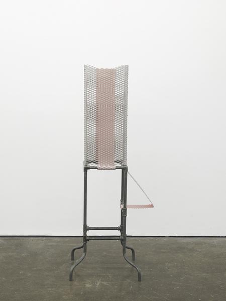 Diane Simpson, Tethered (pink), 2017