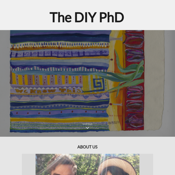 The DIY PhD