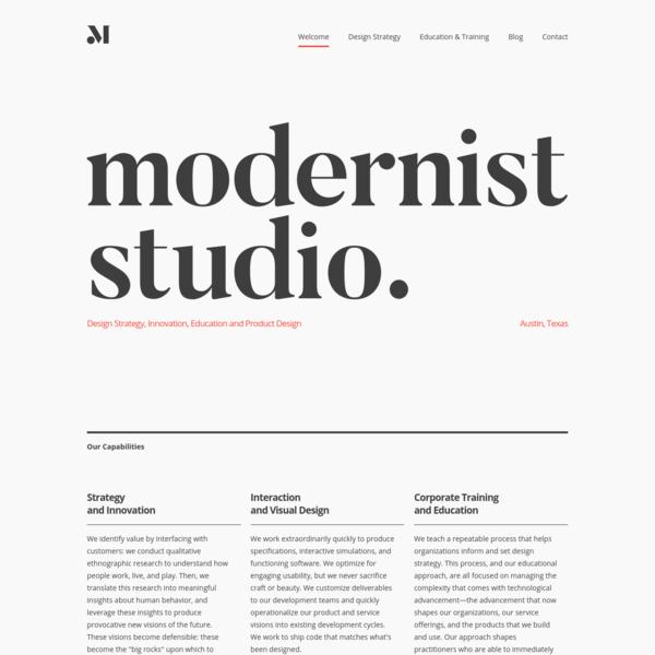 Modernist Studio