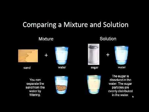 This is a short video on mixtures and solutions.